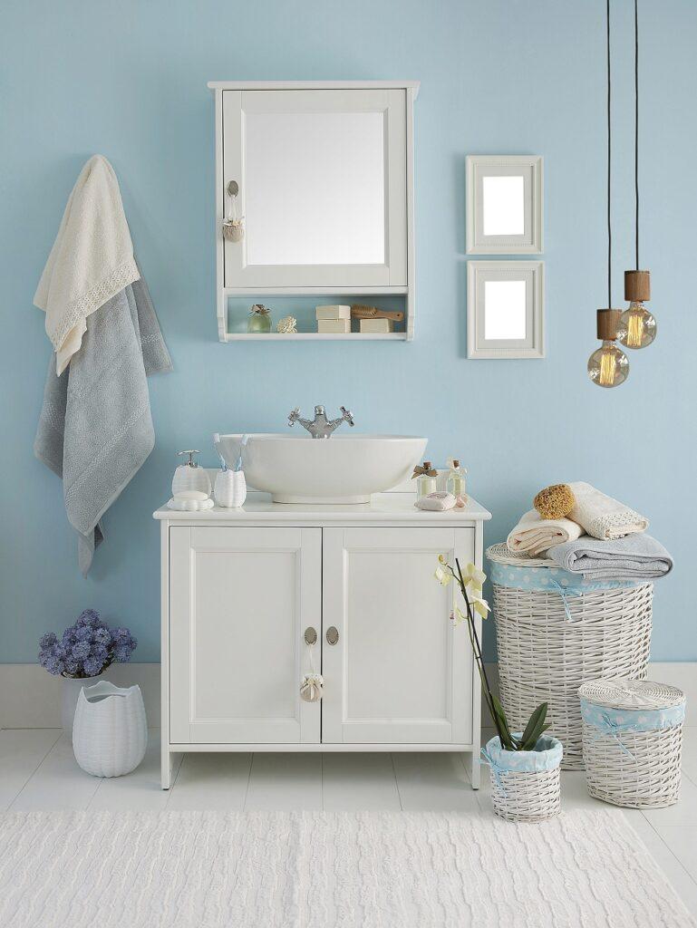 blue bathroom style